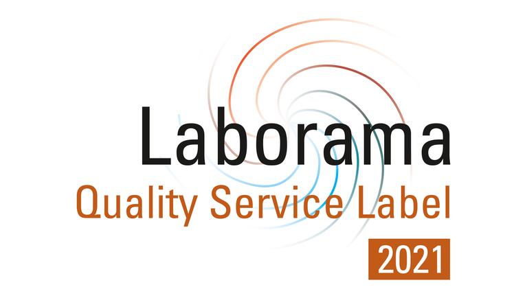 Laborama Quality Service Label 2021