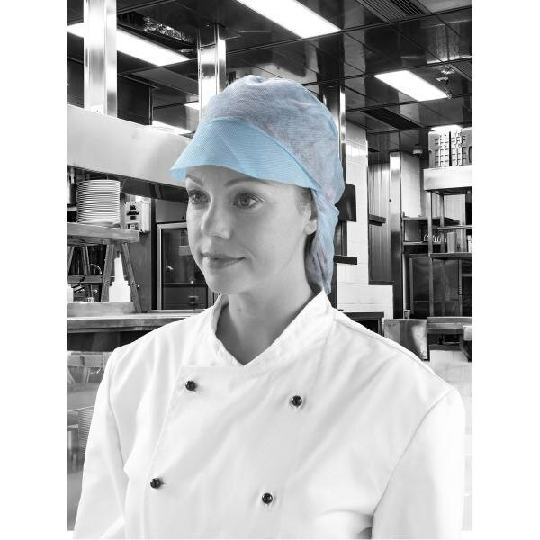 Cap + hairnet crap blue M dm03bc