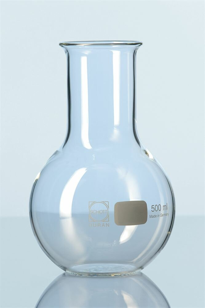Duran flat-bottomed flask 250ml