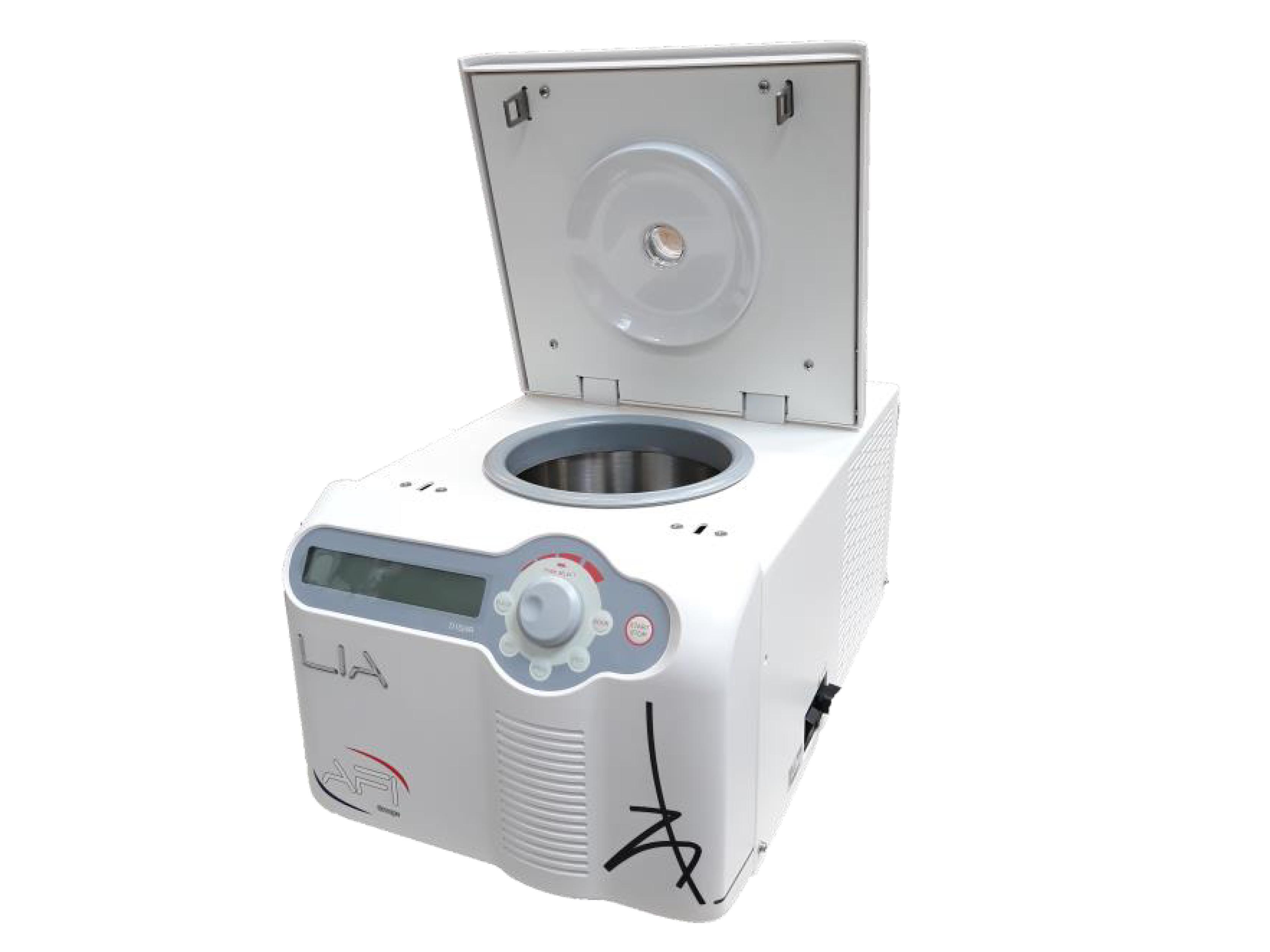 Lia Serie d'Afi: le micro centrifuge réfrigéré